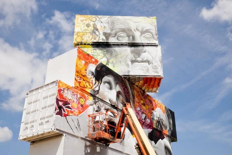 PichiAvo Streetart Mural