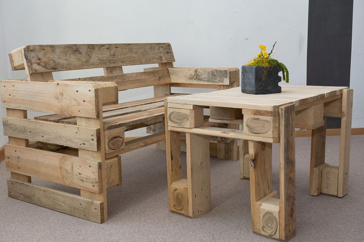 Recycling-Möbel – Individuelle Stücke für wenig Geld