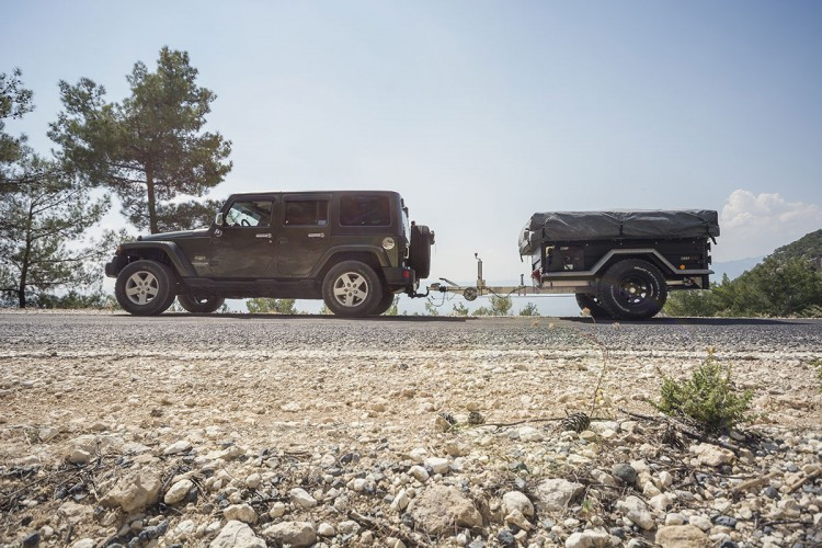 Off-road to Istanbul