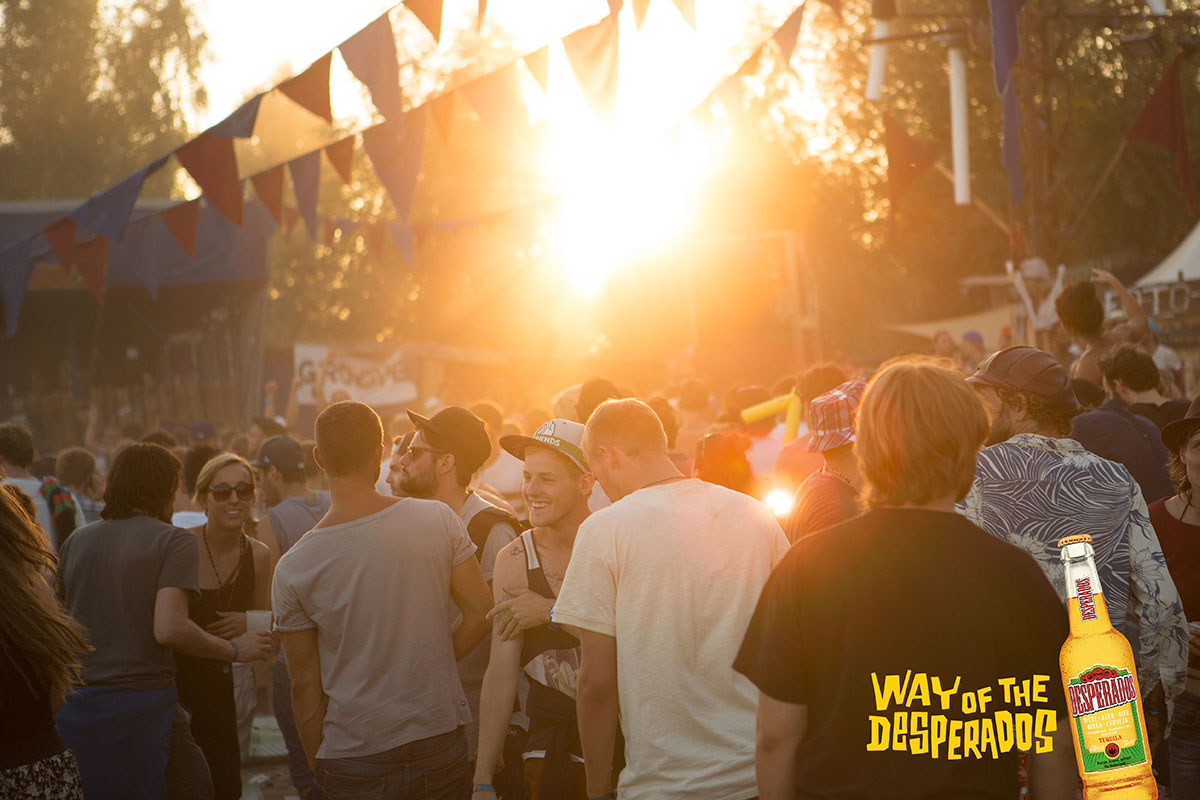 Gewinne mit Desperados Festivaltickets für's Melt! oder splash!