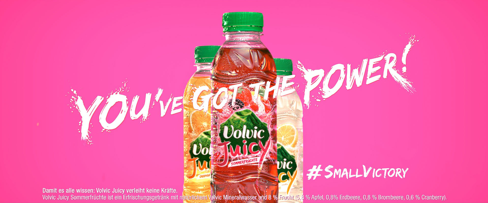 Volvic Juicy Power
