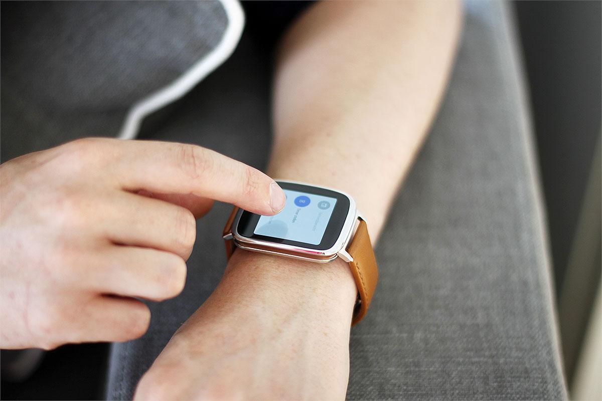 Die Smartwatch von ASUS