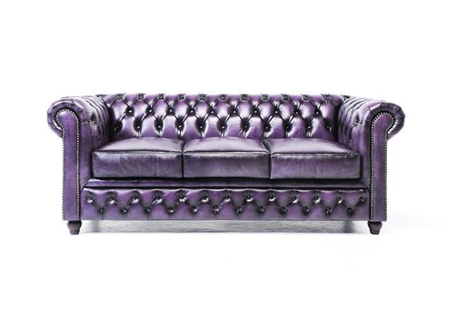 3-Sitzer Sofa Antikviolett