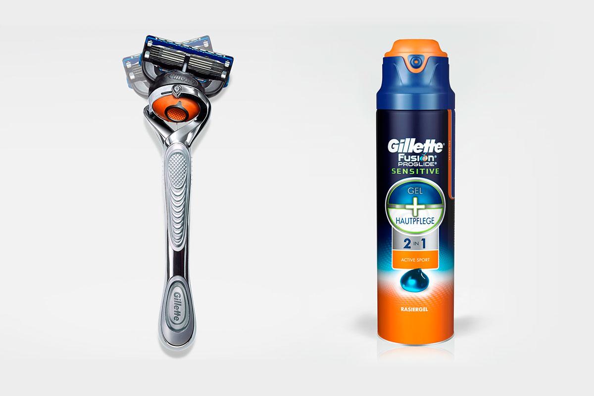 Rostfrei und glatt mit dem neuen Gillette Fusion® ProGlide®2in1