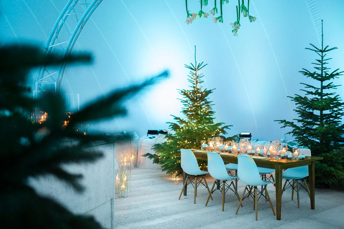 Location in Ludwigsburg Weihnachtsfeier