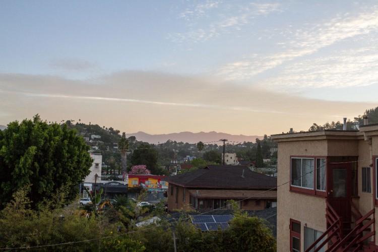 Blick vom Apartment