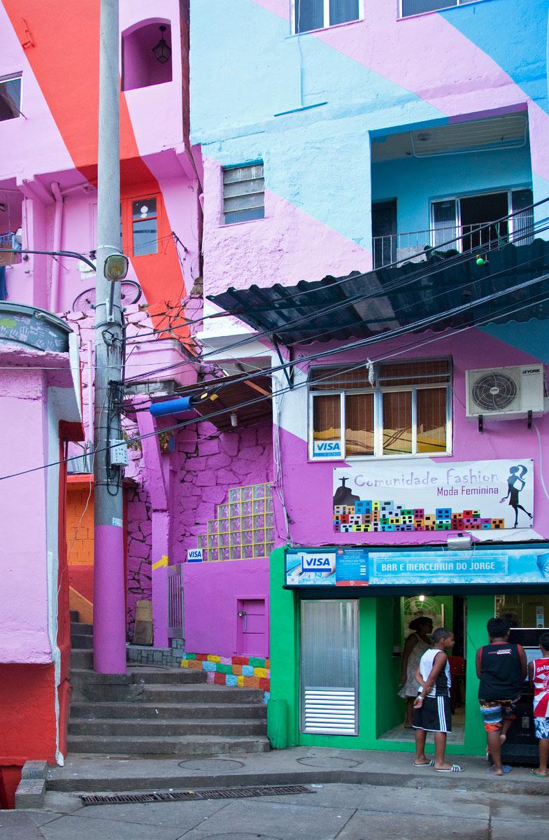 Die Favela Santa Marta