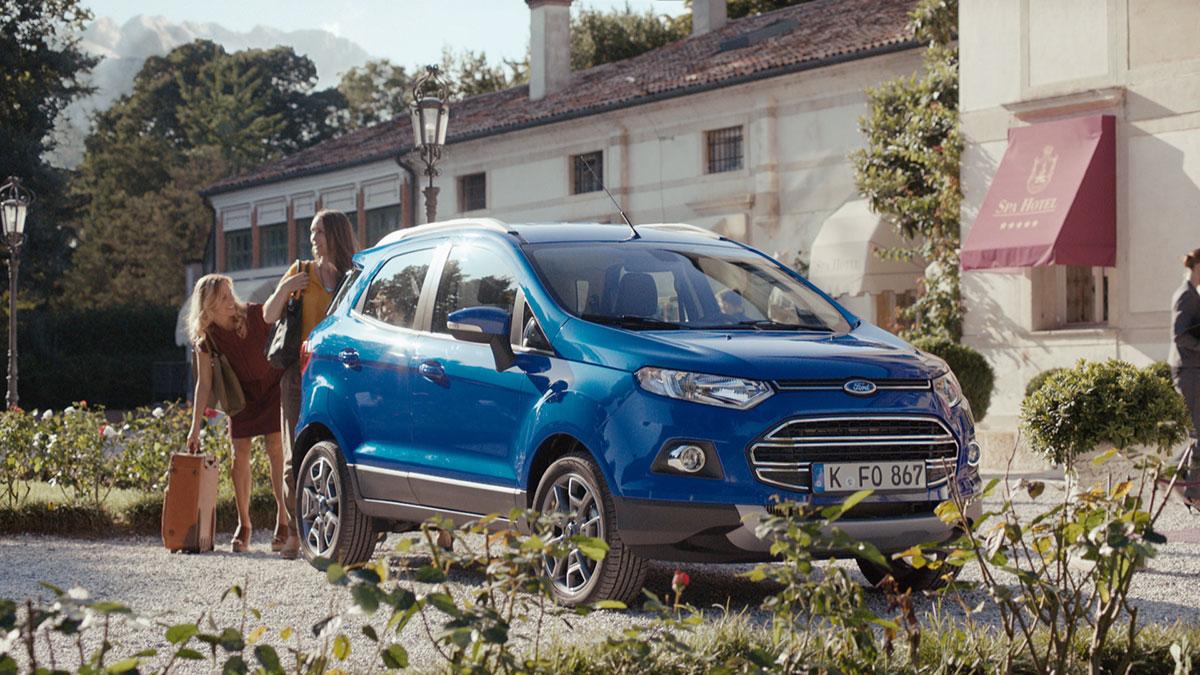 Der Ford EcoSport Lifestyle-SUV