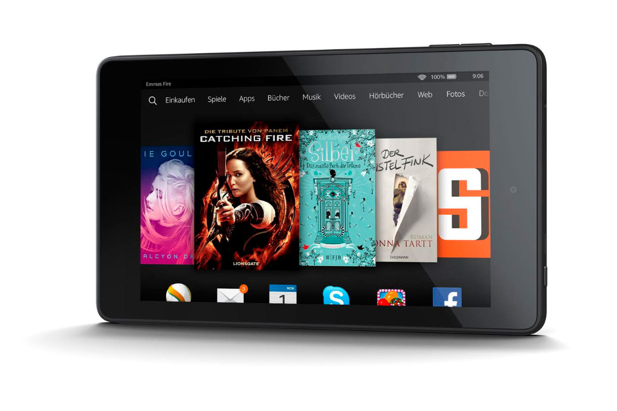 Das Fire HD 6 Tablet von Amazon