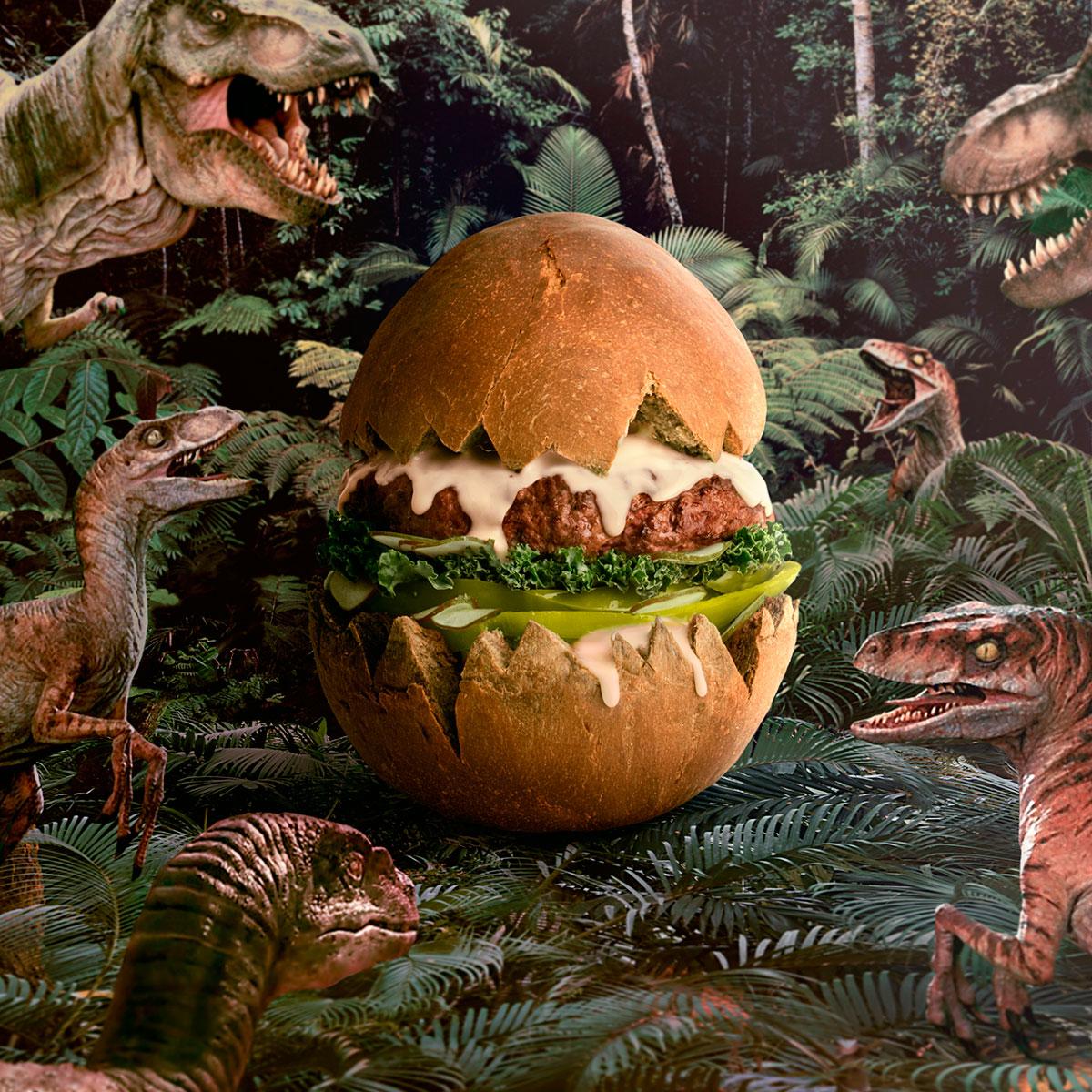 Jurassic Burgeregg
