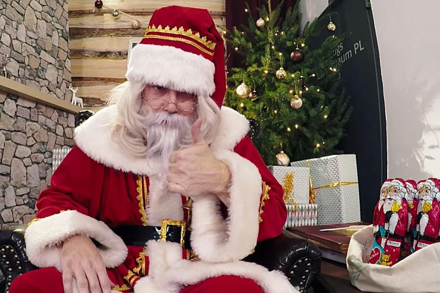 Lidl Weihnachtsmann Ambient Marketing