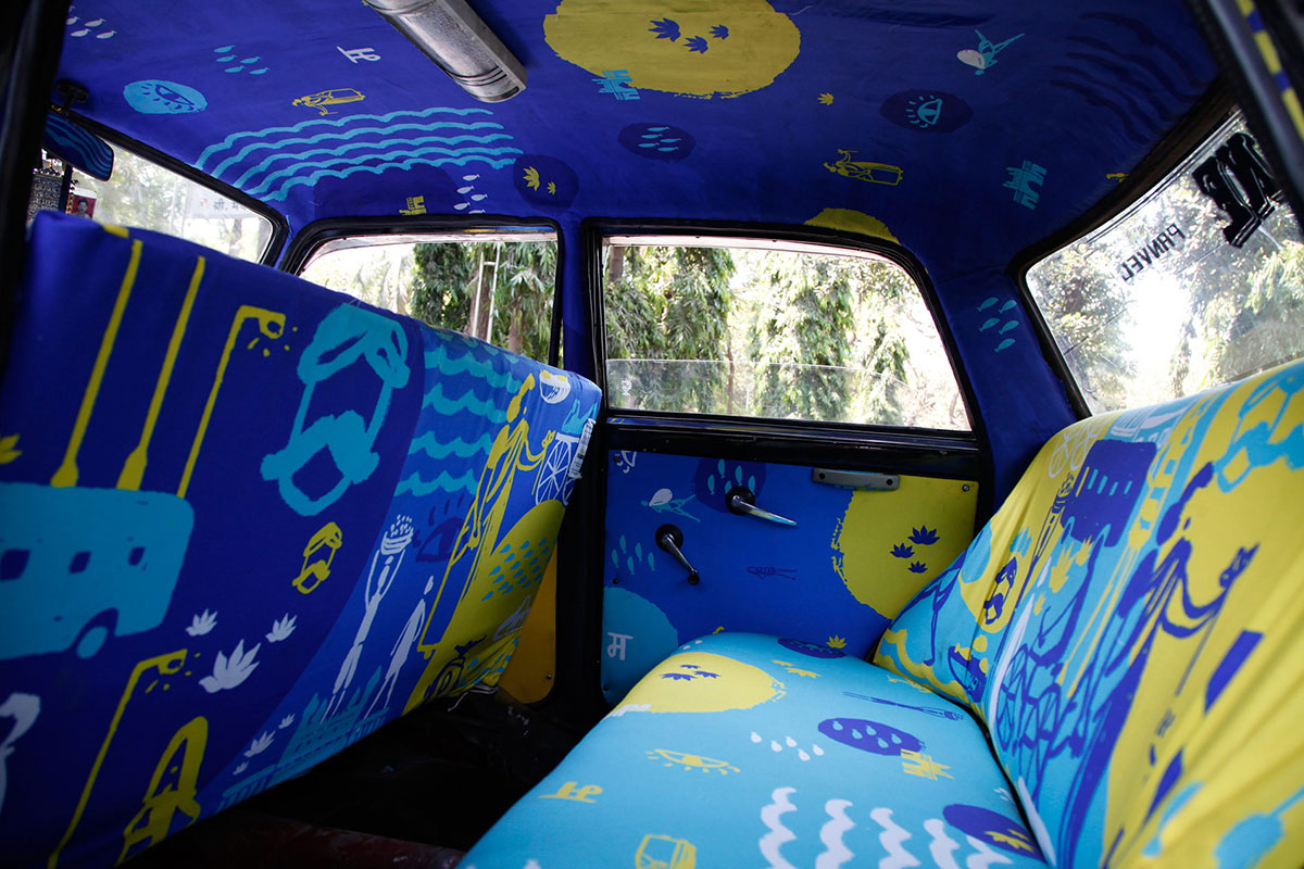 Taxi Fabric #7