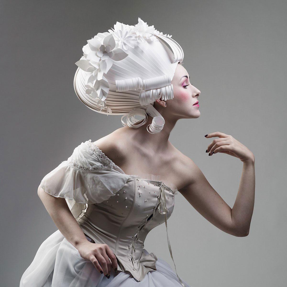 Paper Wigs #3