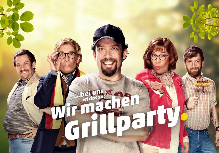 Die Grillparty mit Angrill-Andi