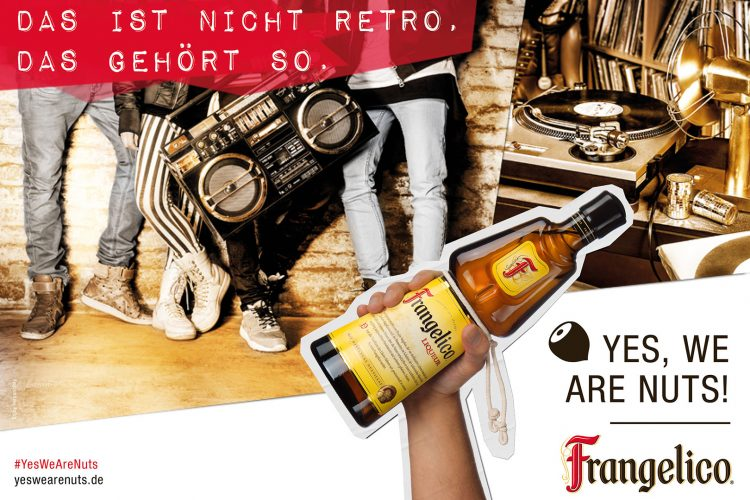 Yes, we are nuts mit Frangelico