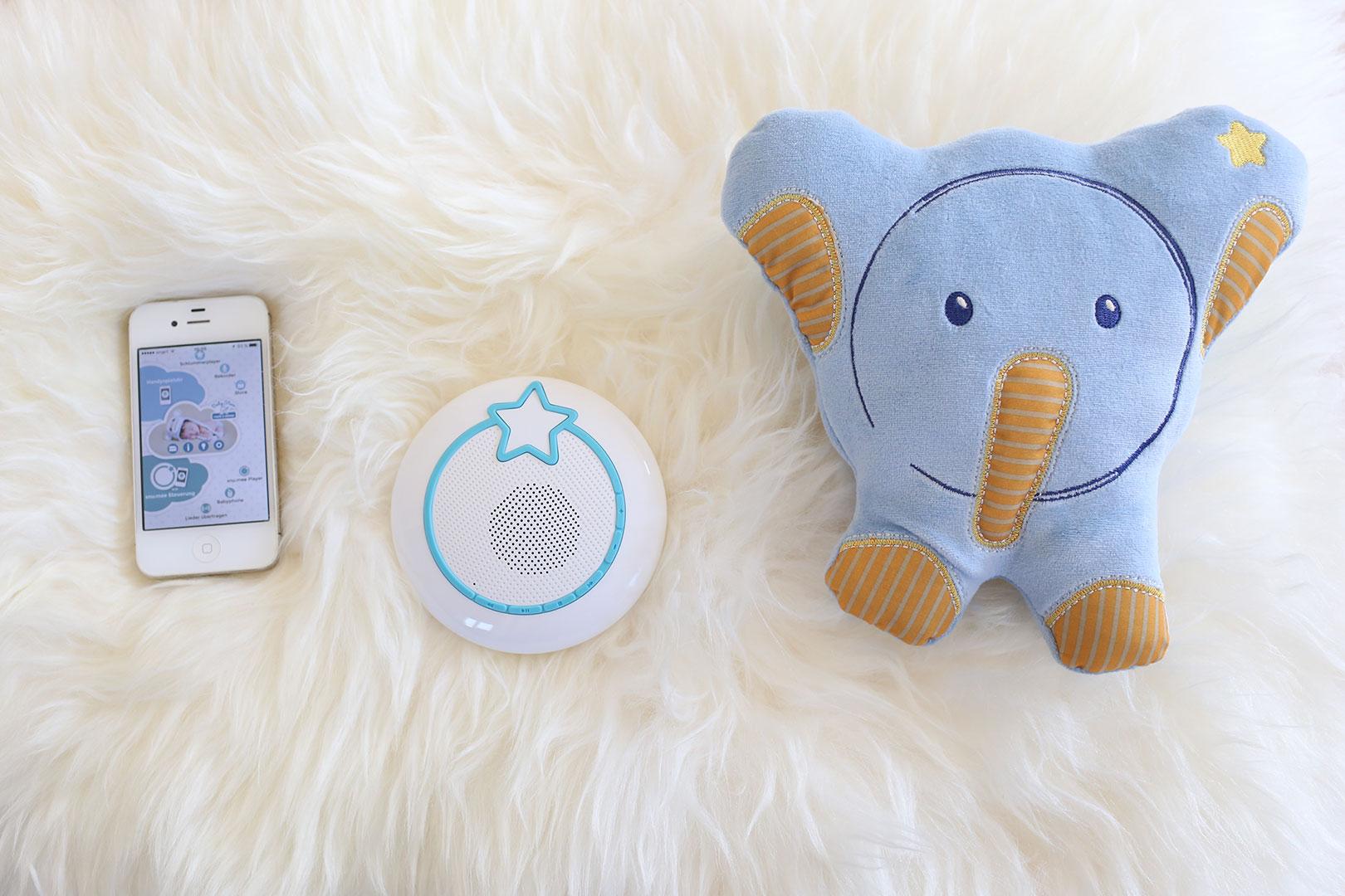 Spieluhr, Babyphone und MP3-Player