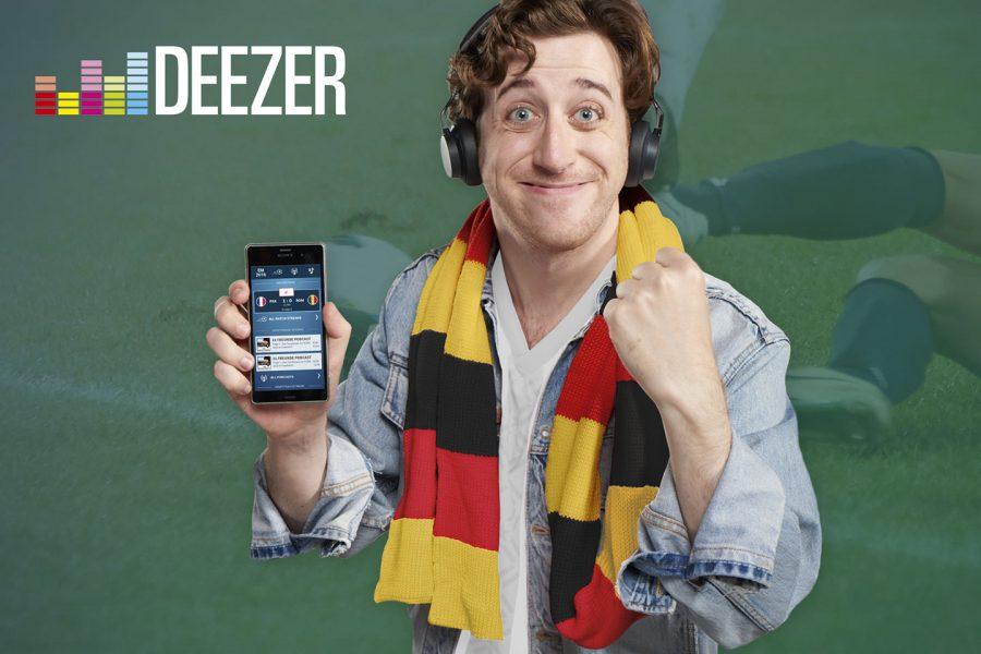 Deezer Musik Stream EM 2016