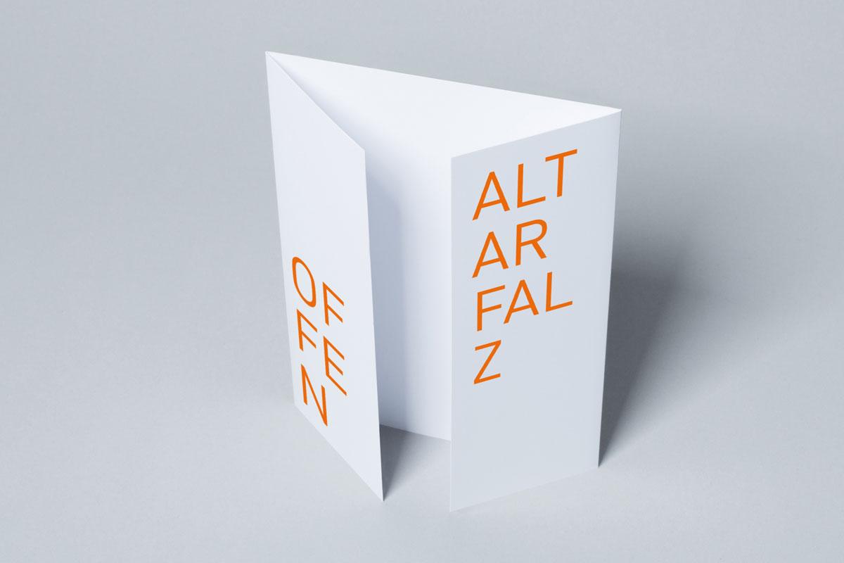 Altarfalz offen