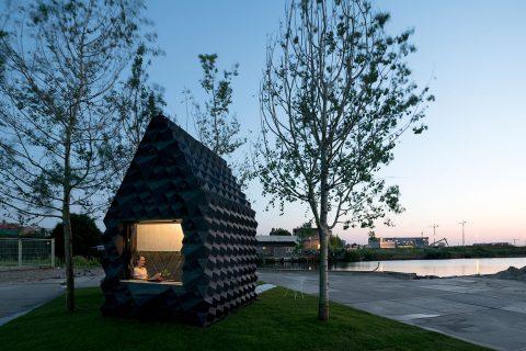Das 3D gedruckte Kanal Haus