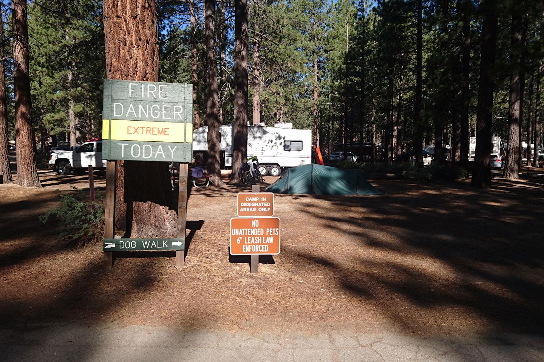 Mit dem Fahrrad Yosemite