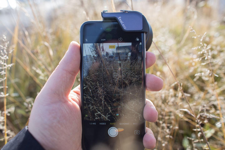 Verbesserte iPhone Fotografie