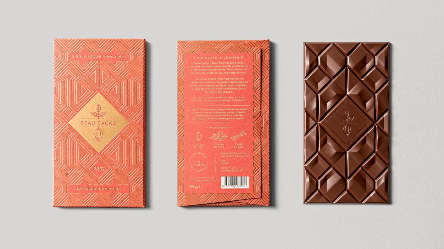 Beau Cacao, Zartschmelzender Designporno in Schokolade