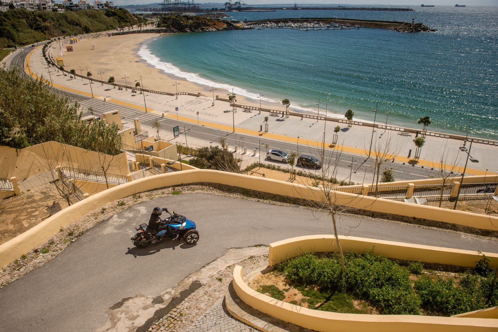 Auf drei Rädern durch Portugal – Roadtrip mit dem Can-Am Spyder