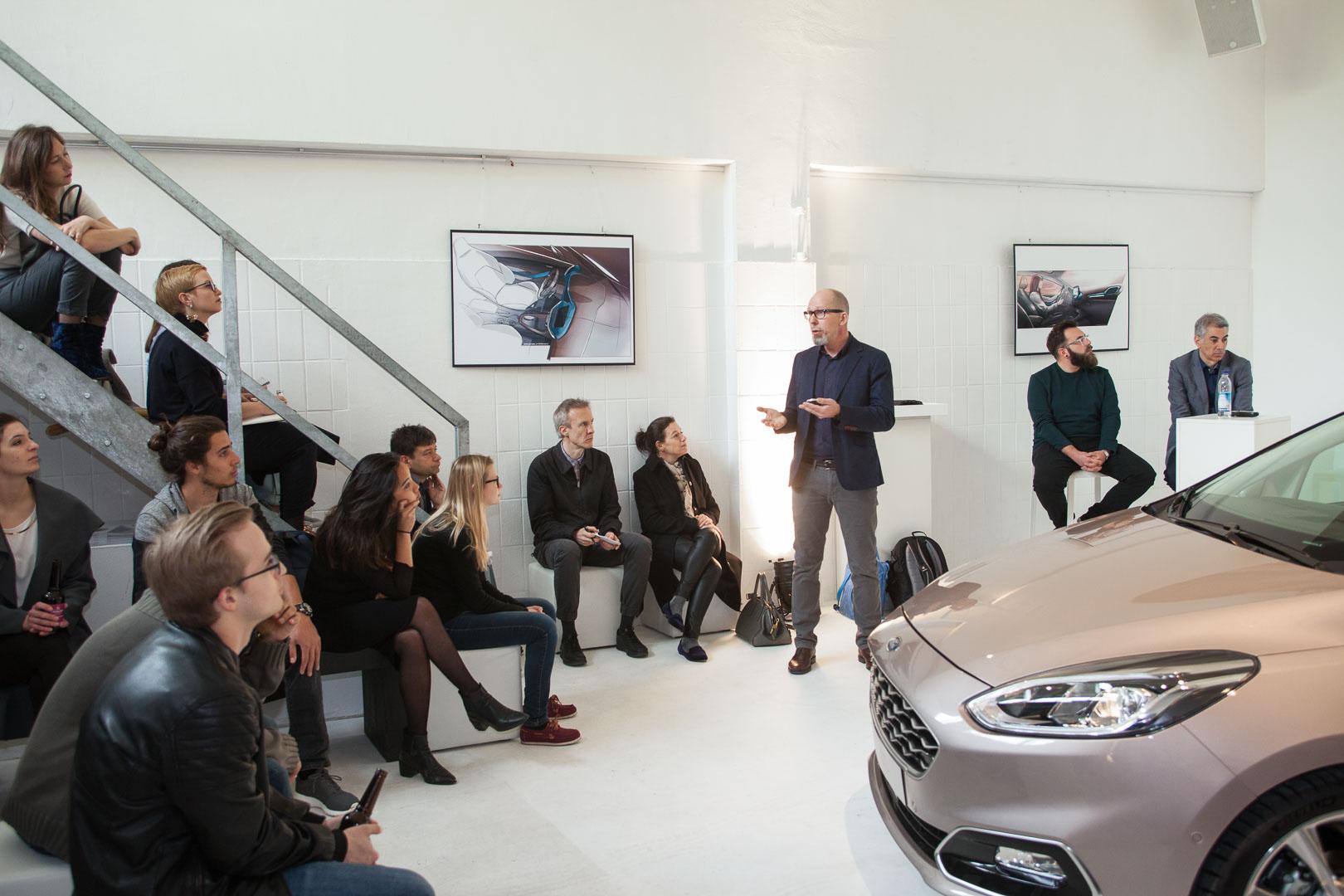 Ford Interior Design Workshop Die Panel Discussion Zum