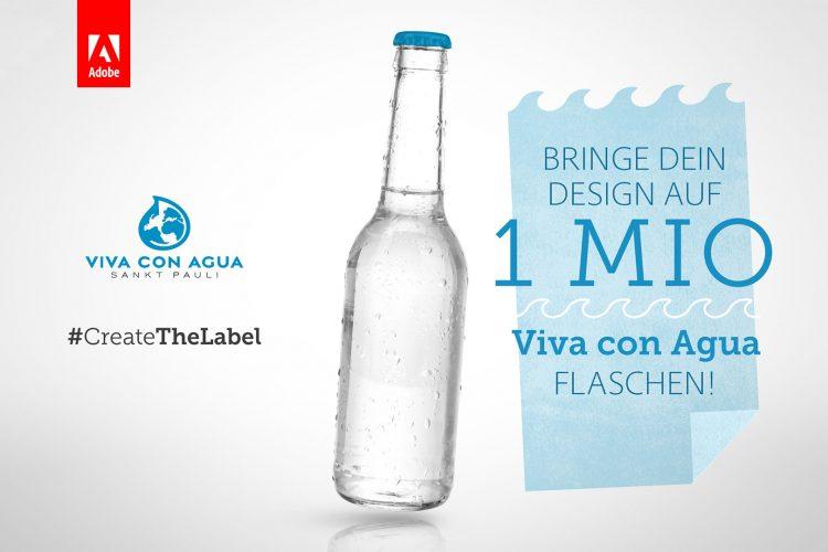 Design Wettbewerb von Adobe und Viva con Agua