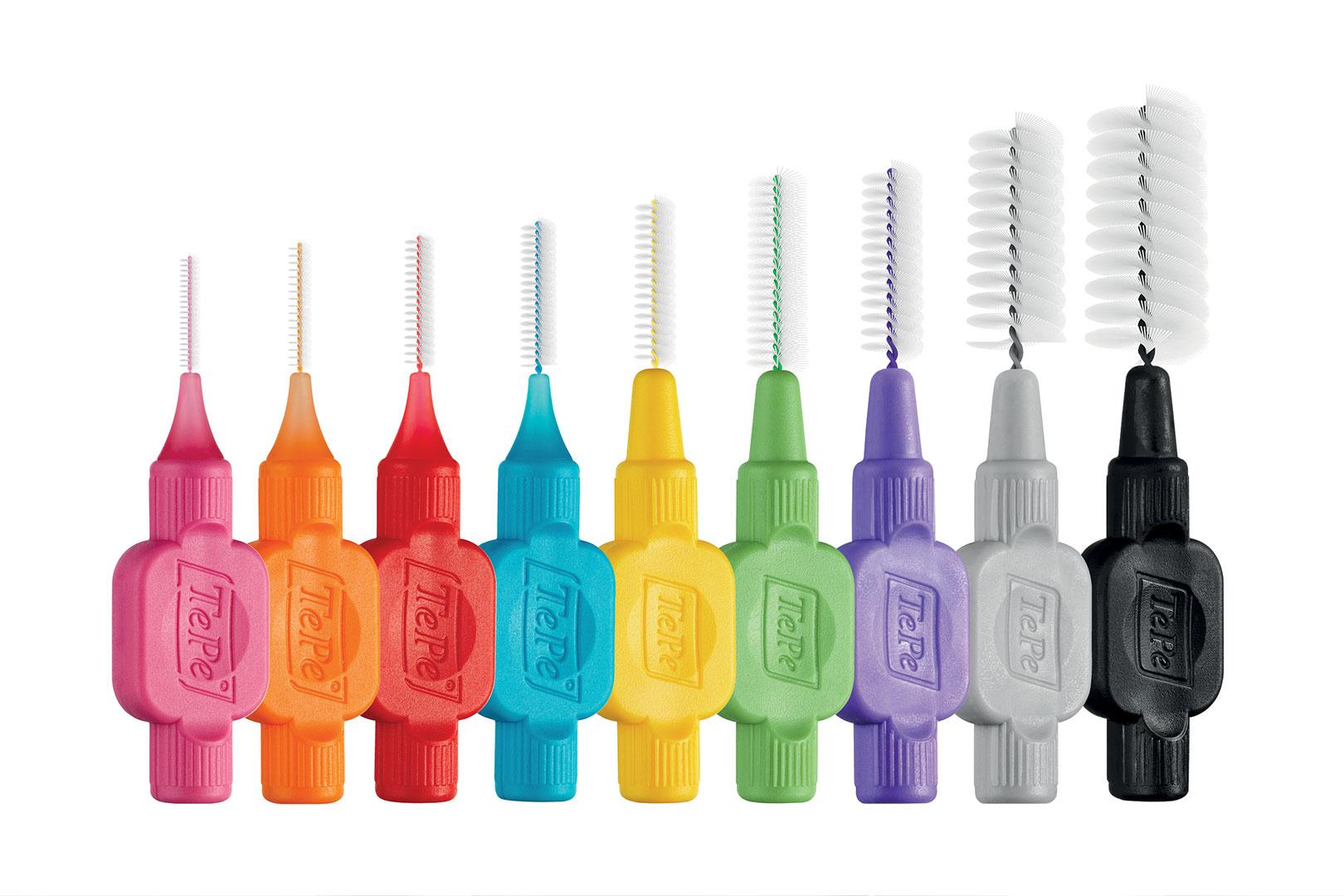 Die Zahnzwischenraumbürsten