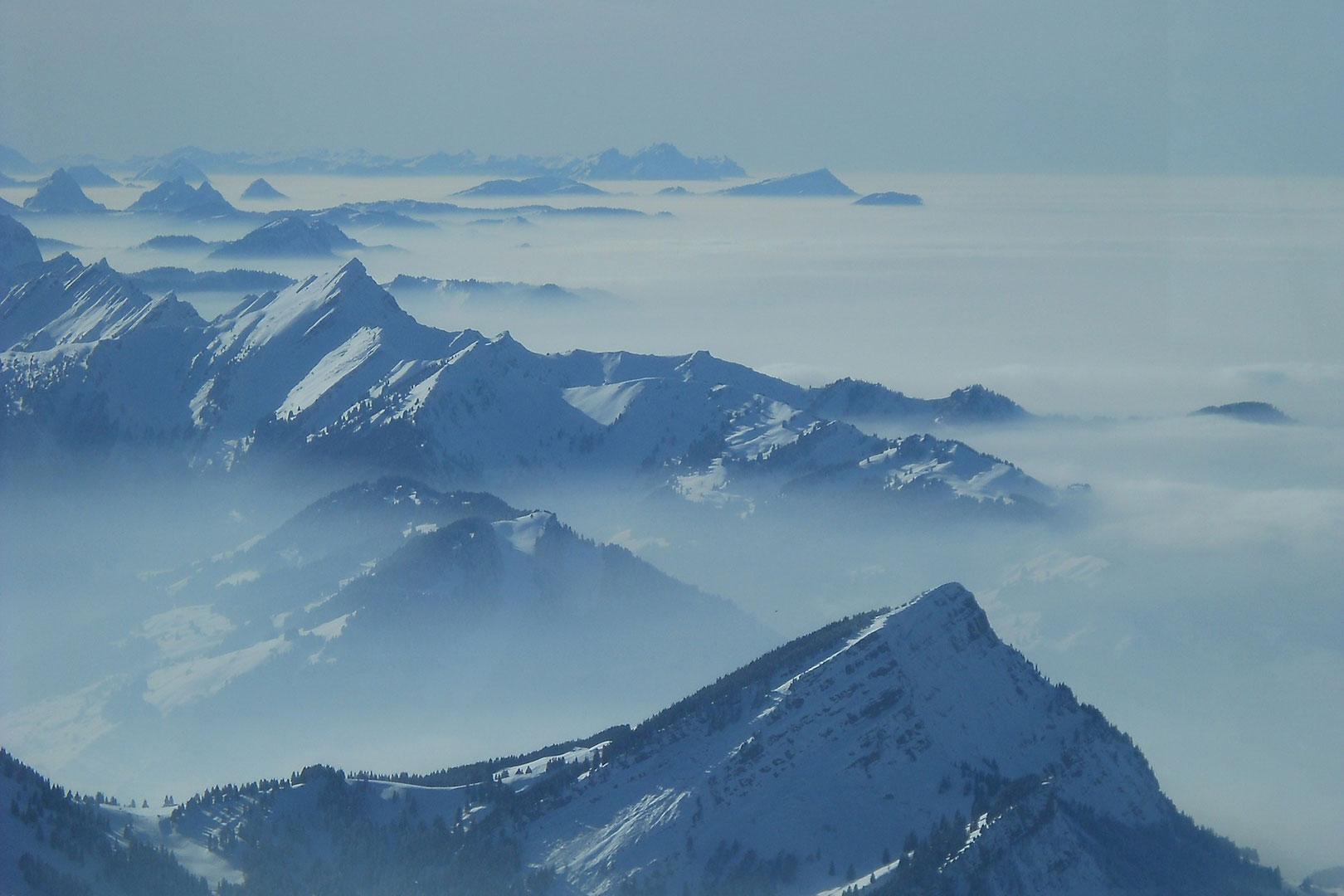 Gebirge der Schweiz