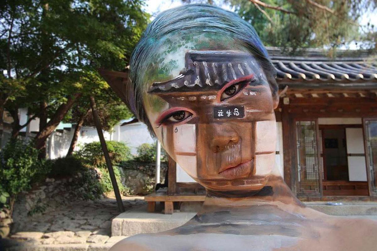 Die unglaublichen Make-Up-Illusionen von Dain Yoon