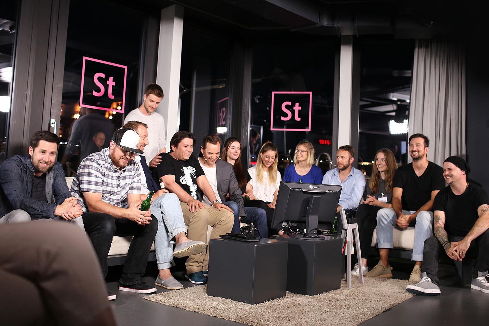 Ein kreativer Abend auf der ersten #AdobeStockNacht