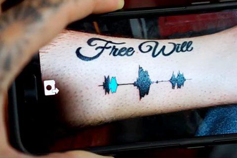 Augmented Reality Sound Tattoos – Folge der Stimme deines Körpers