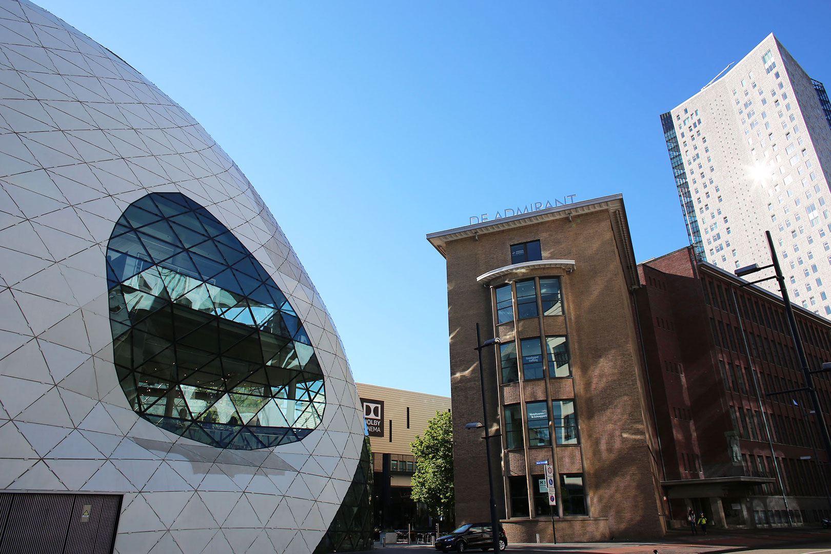 Moderne Innenstadt