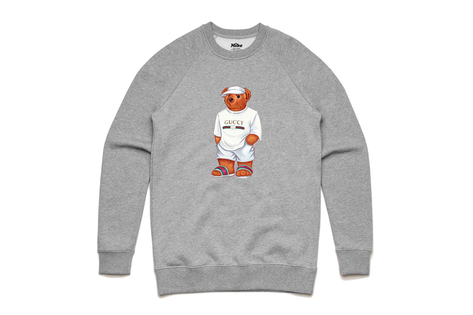 Mike the Bear trägt Gucci, Louis Vuitton und Supreme