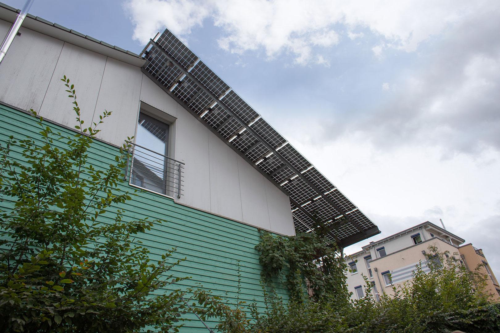 Solar Plusenergiehaus