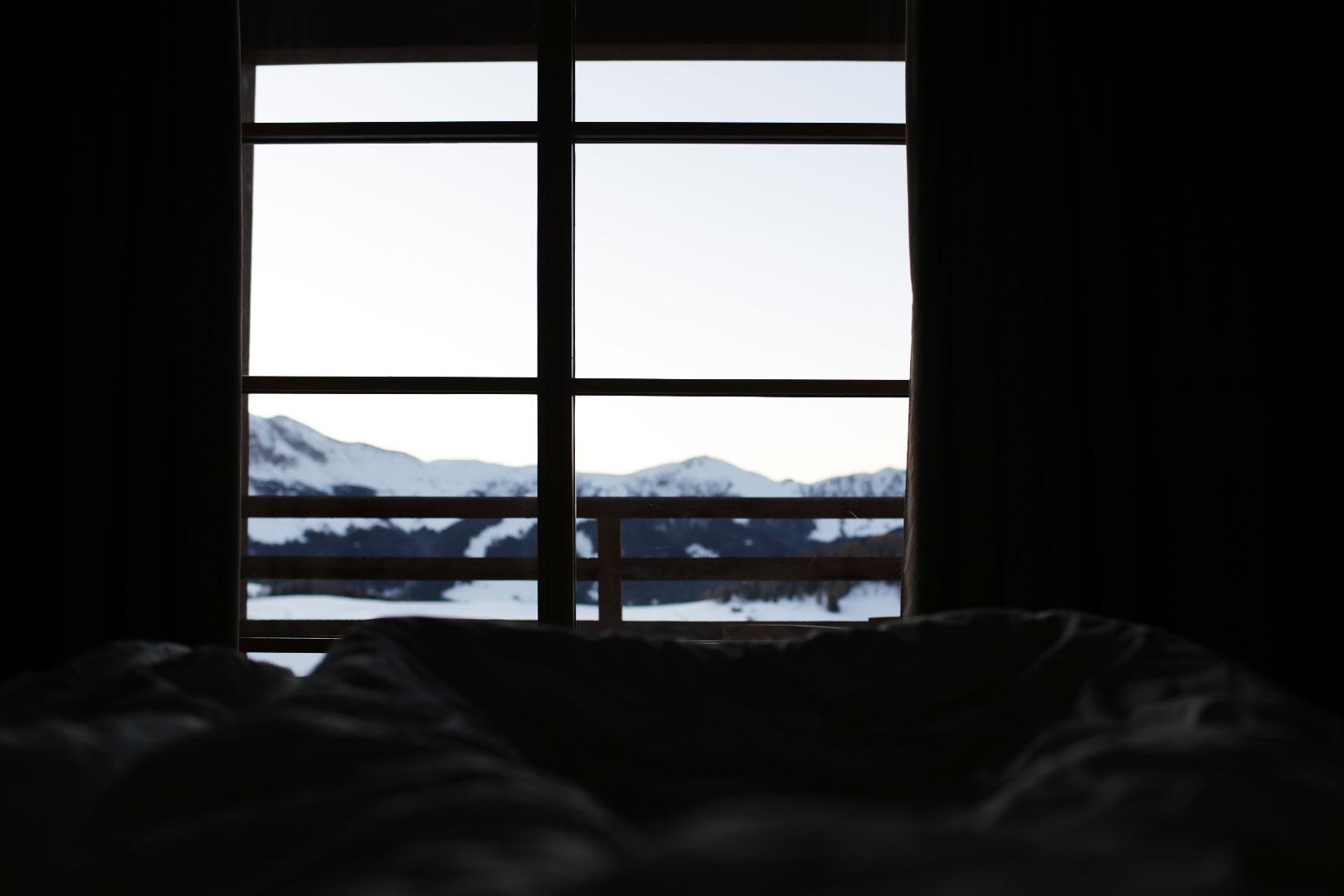 Aufwachen in der ADLER Mountain Lodge