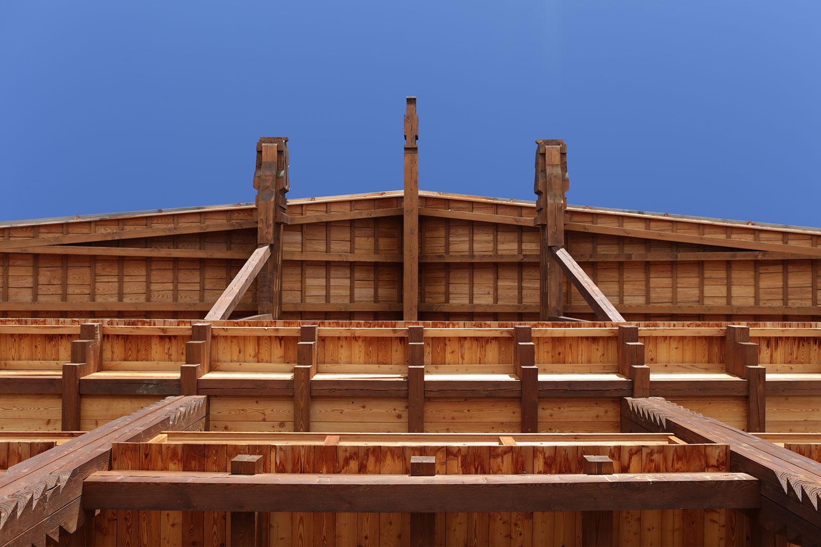 Reine Holzbauweise