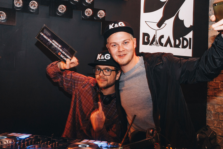 BACARDÍ Major Lazer The Sound of Rum DJ Contest im Haubentaucher Berlin