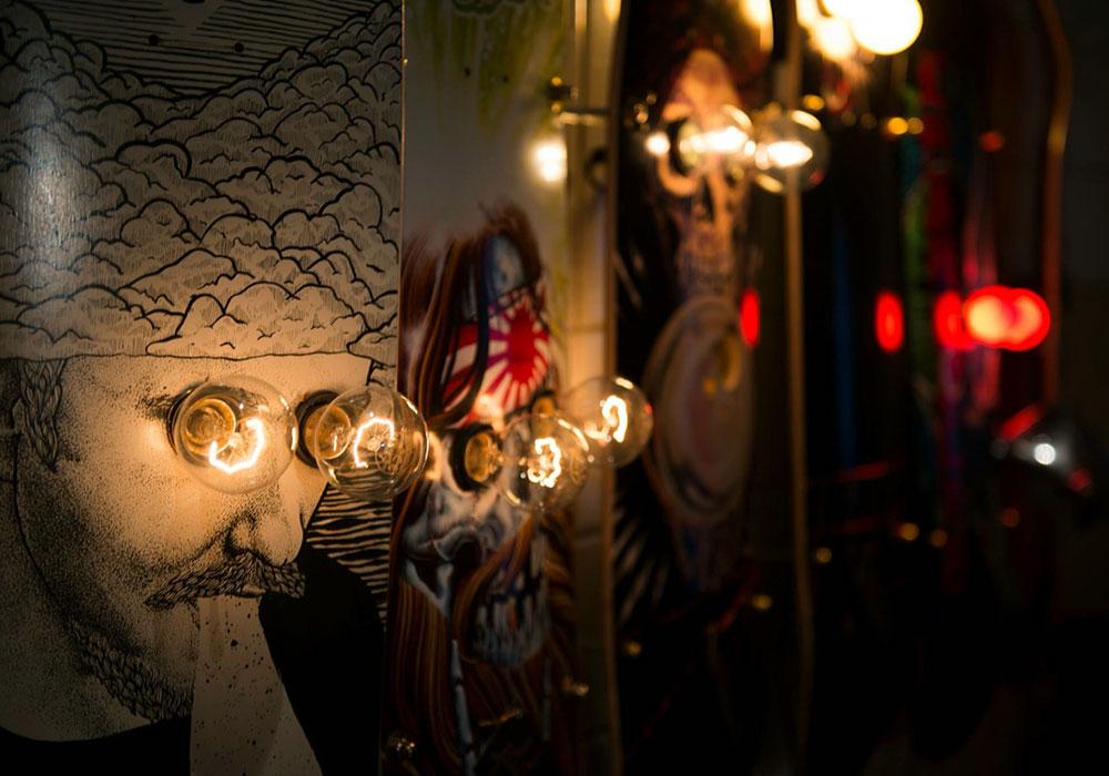 Lampen statt Rampen – die Skateboardlampe von Eddison