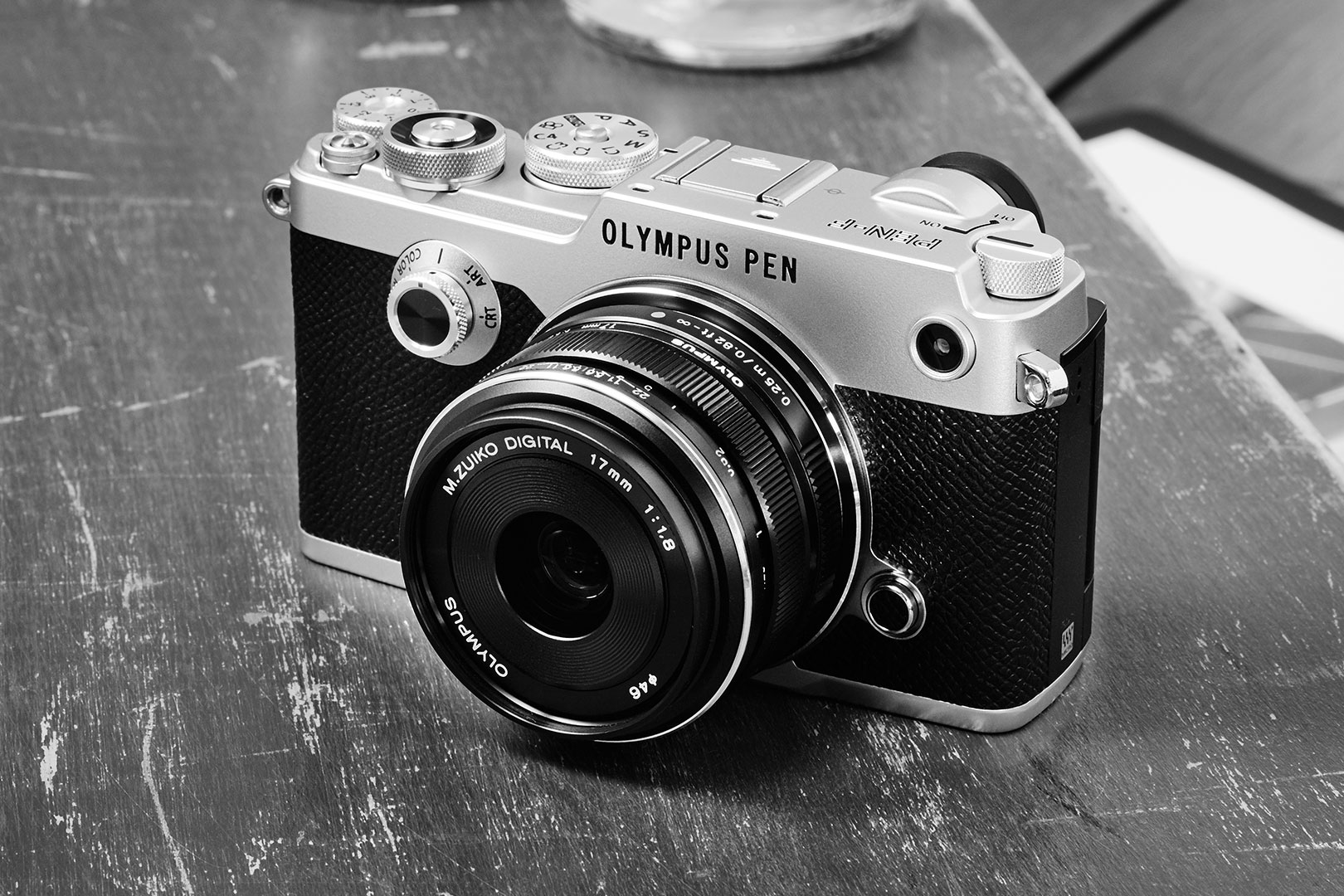 PEN-F Kamera silber