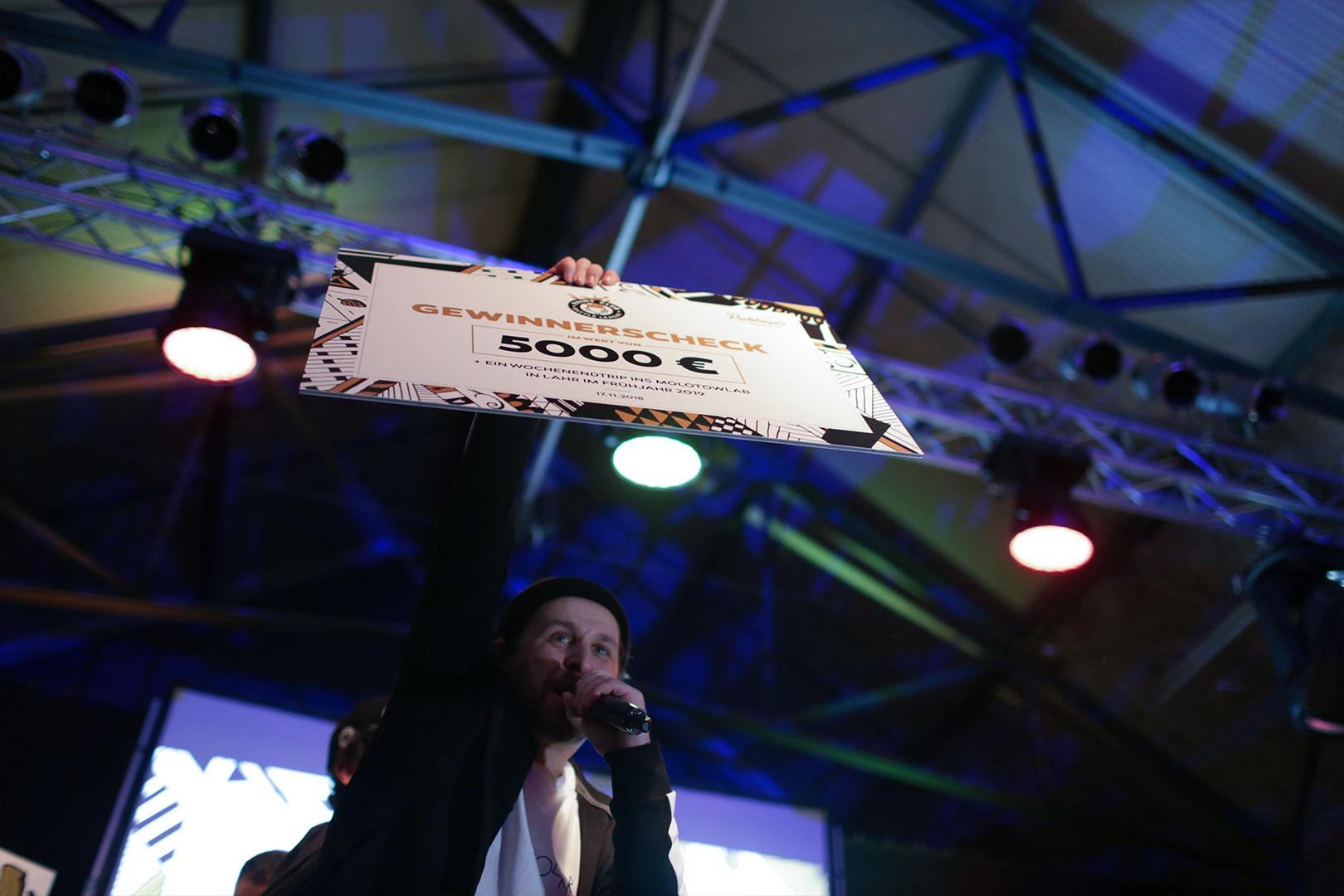 5000 € für die Gewinner
