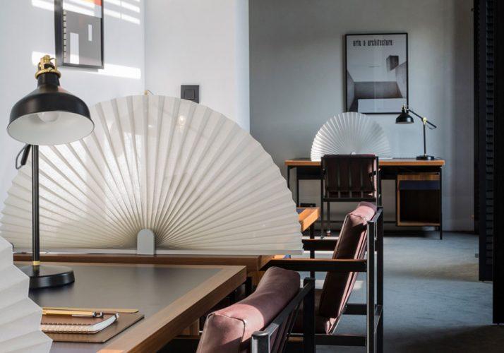 Sichtschutz in Büroräumen