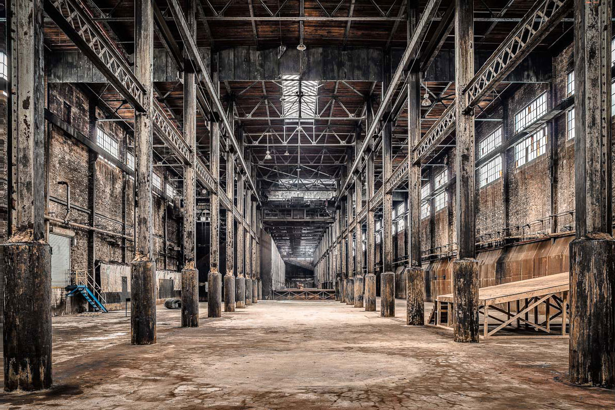 Abandoned Places: Domino Sugar Refinery