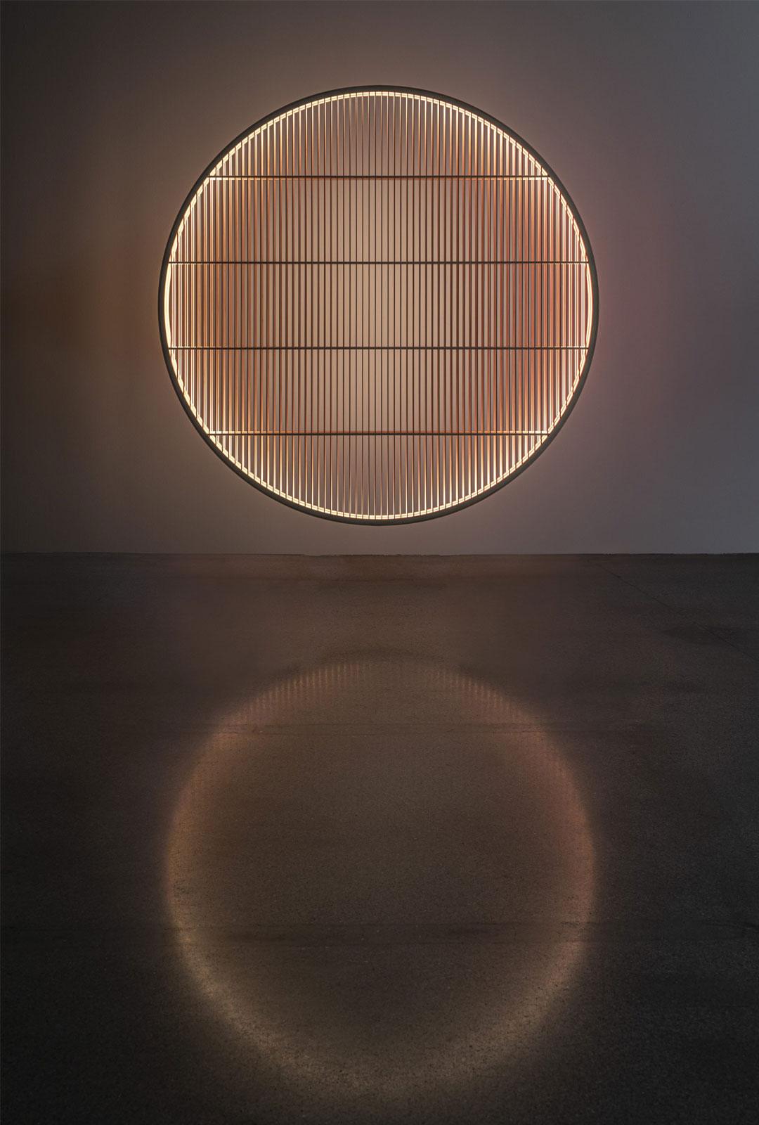 Spiegelung Lichtspiel