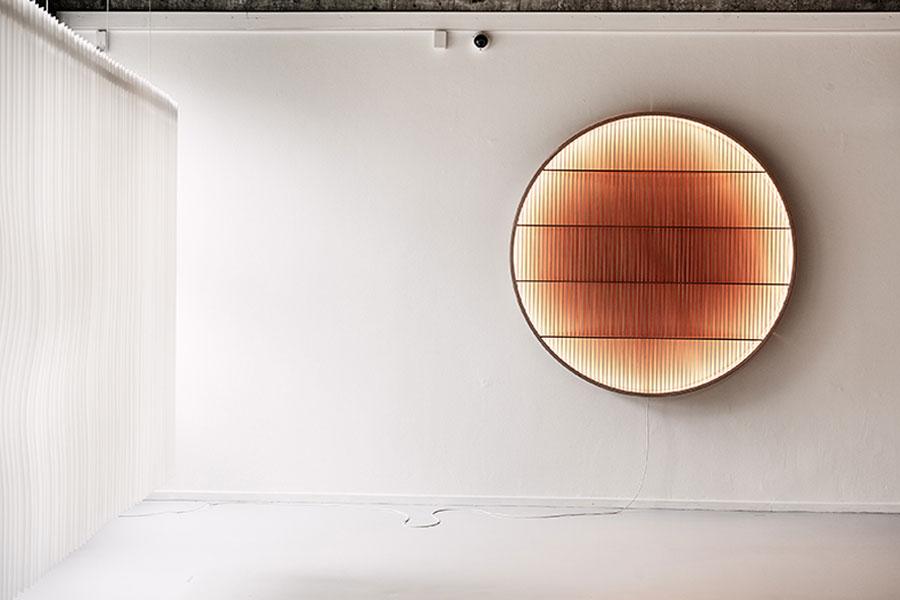 Komposition Lampe