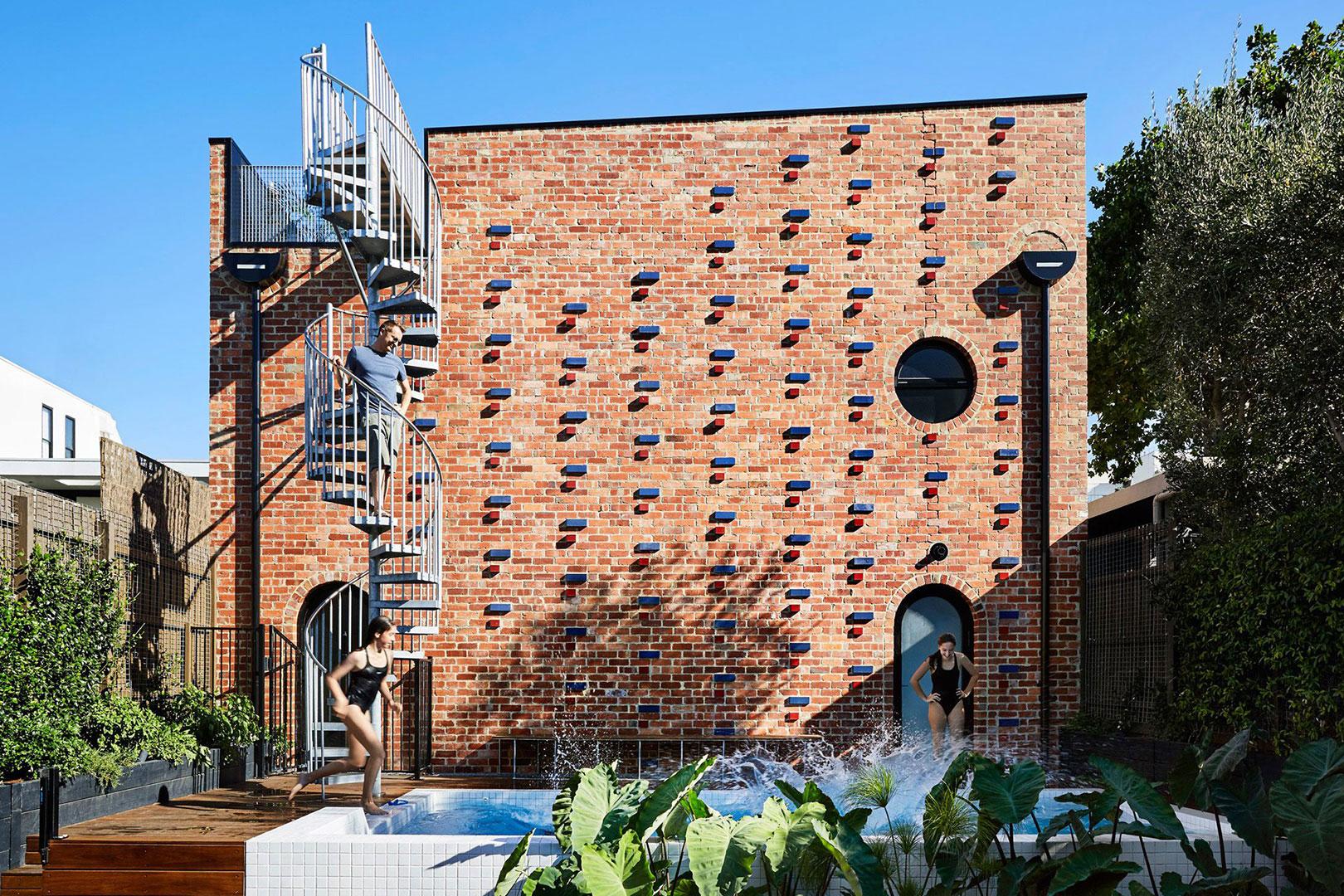 Brickface – das verspielte Backstein Bauwerk aus Melbourne