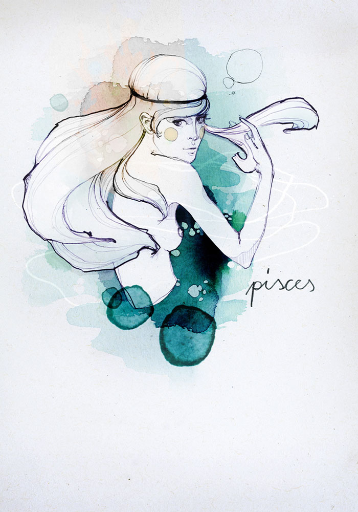 Ekaterina Koroleva Zodiac Signs - Pisces