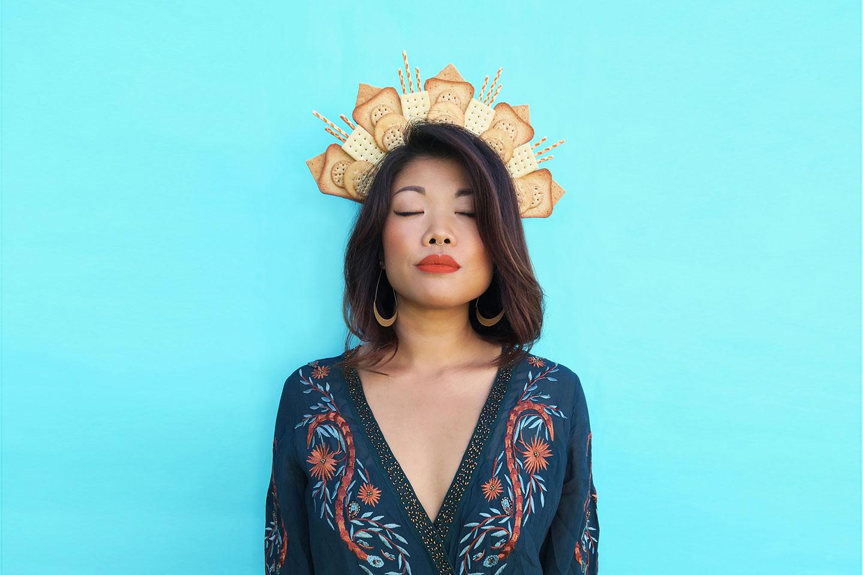 Du liebst Kohlenhydrate? Lauren Hom trägt diese auf dem Kopf.